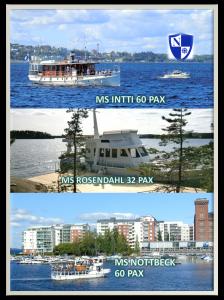 MS Rosendahl, Näsijärvi, Tampere
