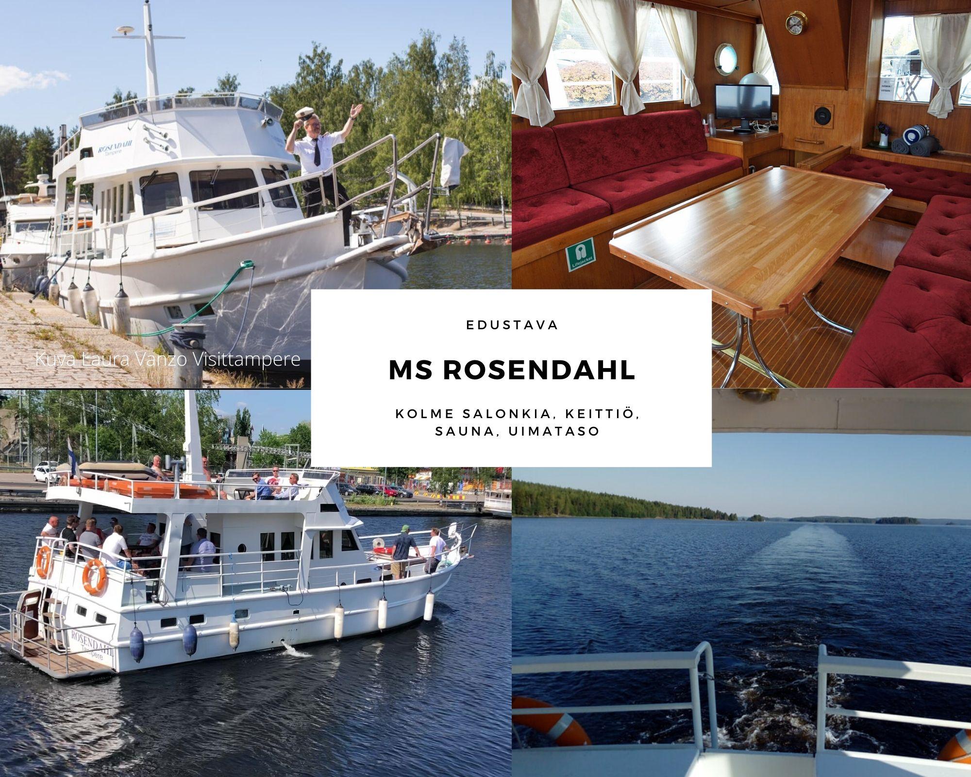 MS Rosendahl, Tampere, Juhlatila