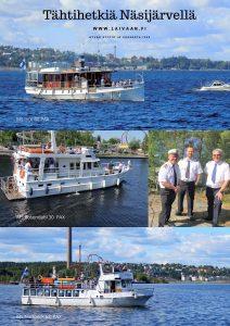 Risteilyt, Tampere, MS Intti, MS Nottbeck, MS Rosendahl