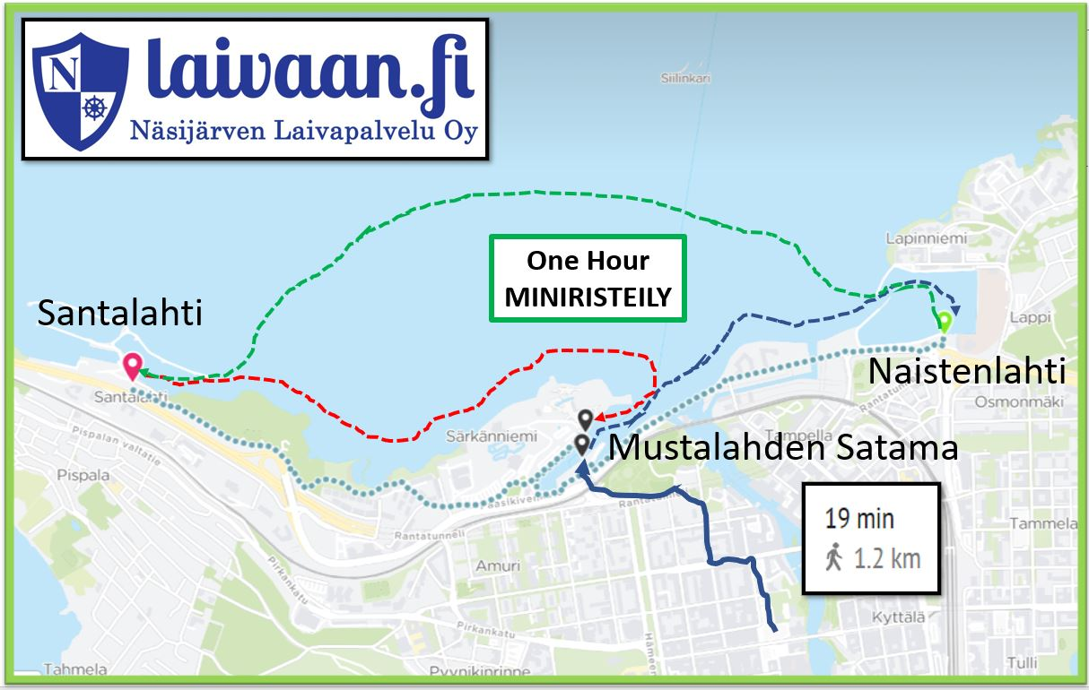 ONE HOUR CRUISE, Tampere
