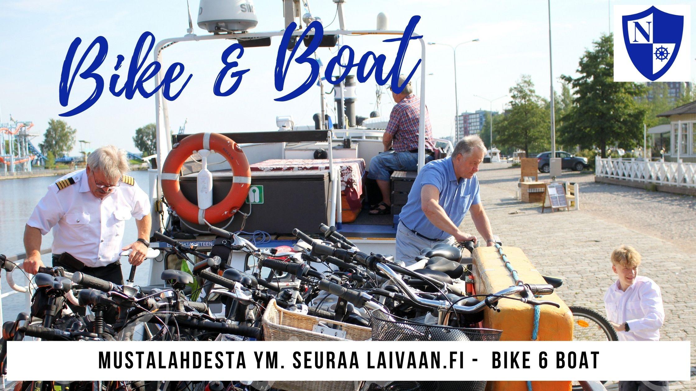 Pyörä- ja laivamatkan yhdistelmä, Tampere
