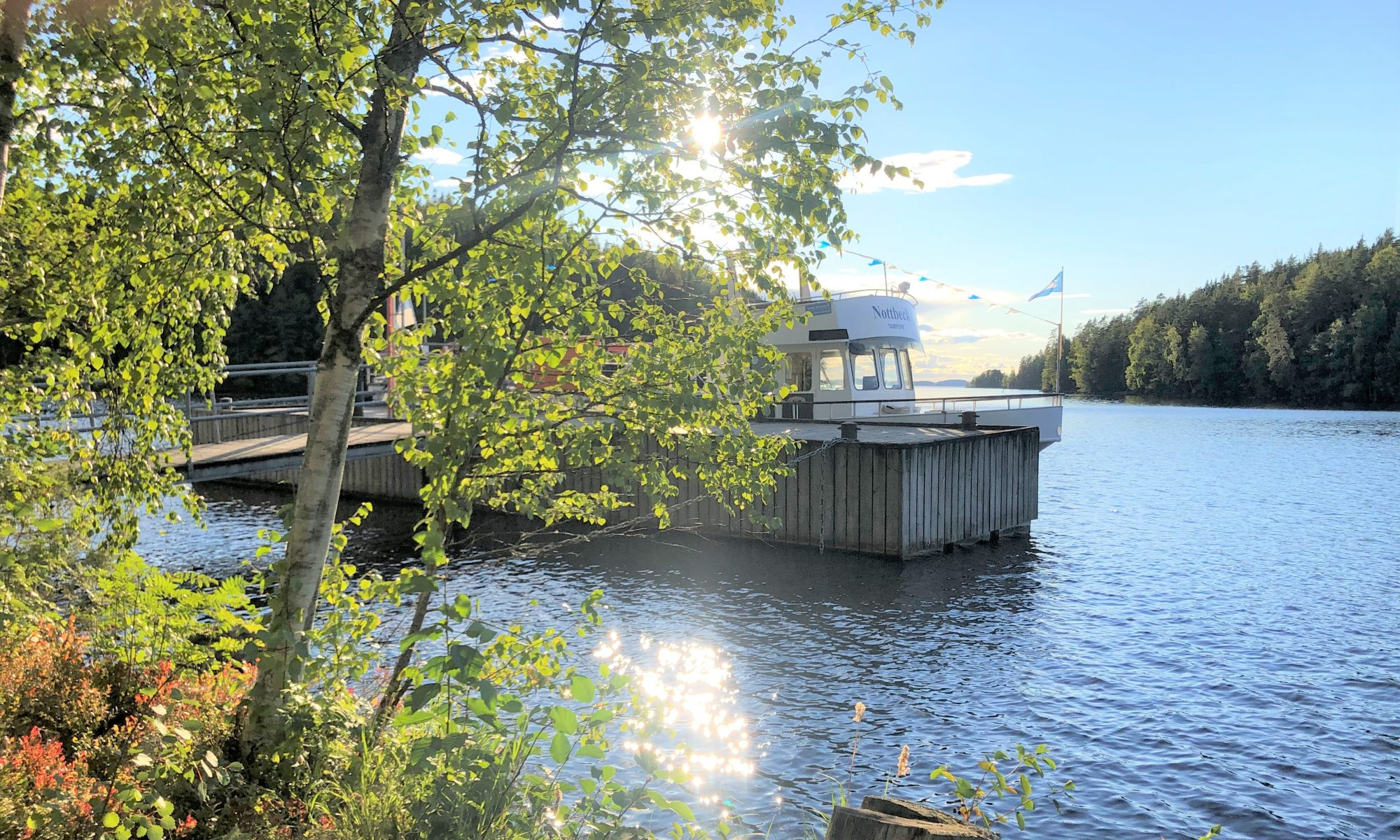 Maisansalo, Näsijärvi, Risteily